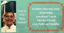 Soirée afghane à In cuisine, Lyon